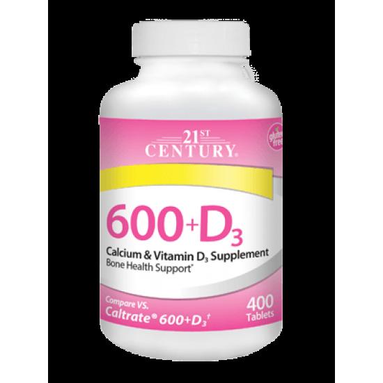 Калций 600 мг + Д3 75 Капсули