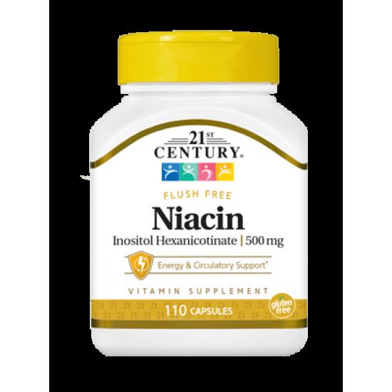 Ниацин Инозитол Хексаникотинат 500 мг 110 Капсули