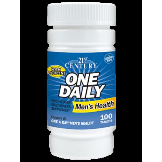 One Daily Мултивитамини и мултиминерали за мъже с Ликопен 100 Таблетки