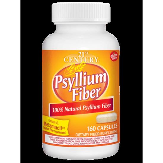 Фибри от Псилиум 500 мг 160 Kапсули