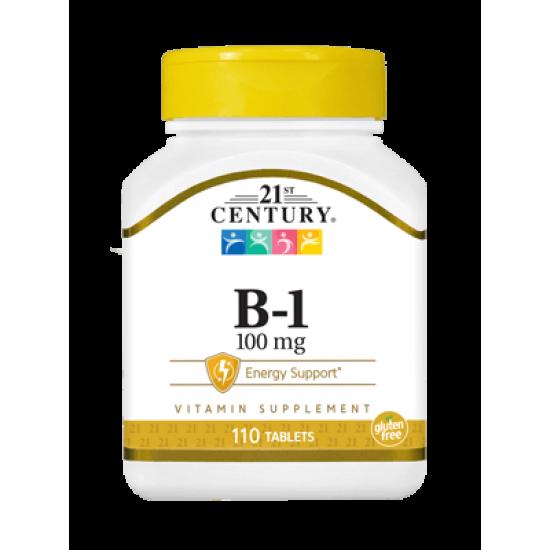 Витамин B-1 100 мг 110 Таблетки