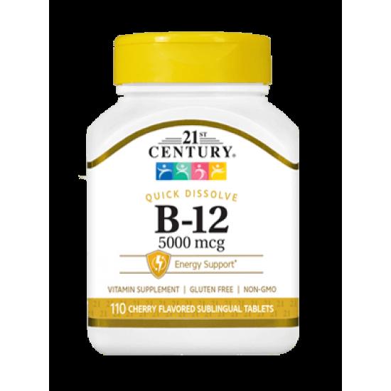 Витамин B-12 5000 мкг 110 подезични таблетки
