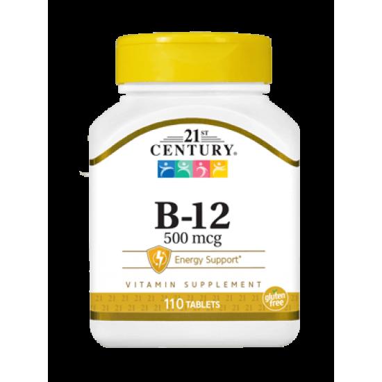 Витамин Б12 500 мкг 110 Таблетки