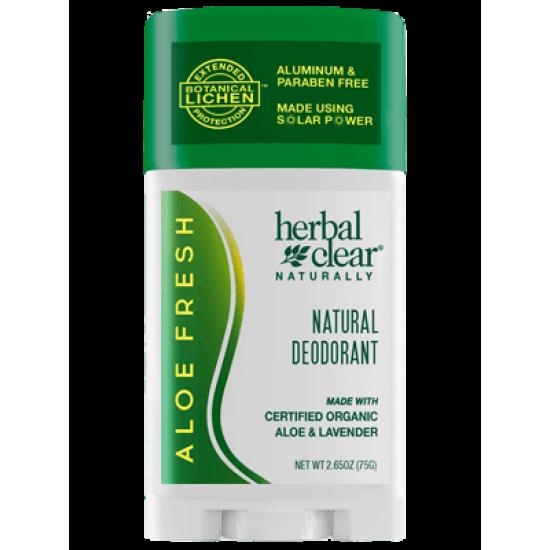 Натурален дезодорант Herbal Clear Aloe 75 гр