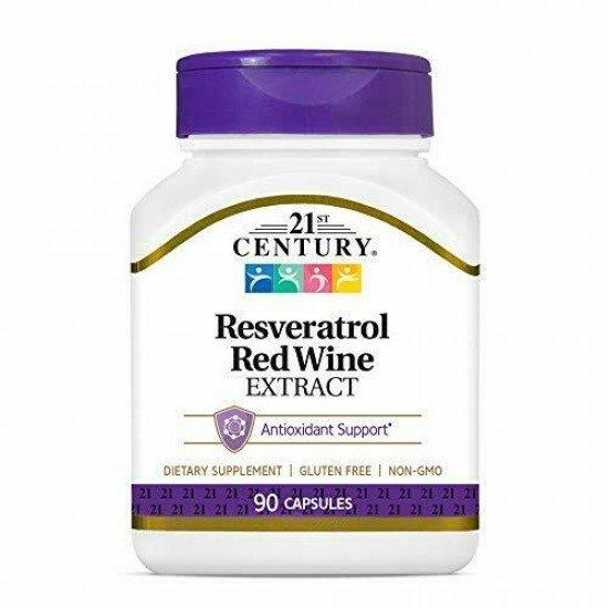 Ресвератрол Екстракт от Червено вино 90 Капсули