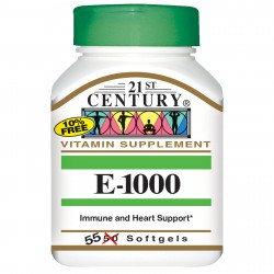 21st Century Natural Vitamin E 1000 IU