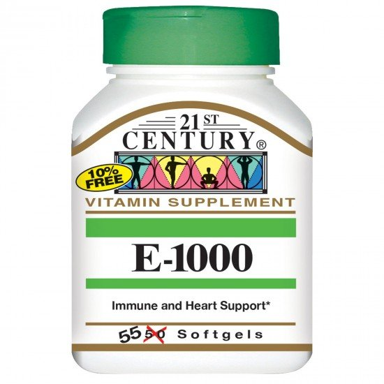 21st Century Natural Vitamin E 1000 IU