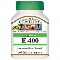 21st Century Natural Vitamin E 400 IU