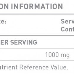 Battery Nutrition Vitamin C 1000mg