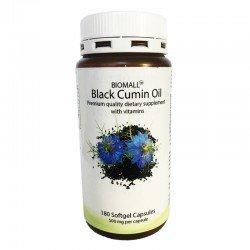 Масло от черен кимион 500 мг 180 капсули | BioMall