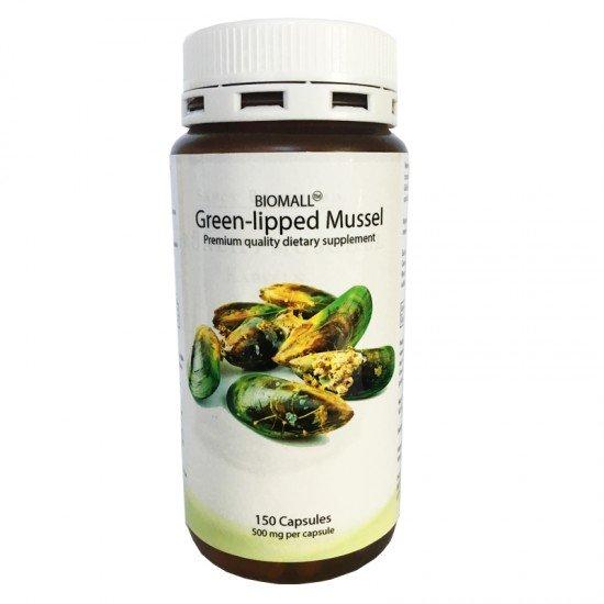 Зеленоуста мида 500 мг 150 капсули | BioMall
