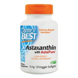 Doctor's Best Astaxanthin With AstaPure 6 mg