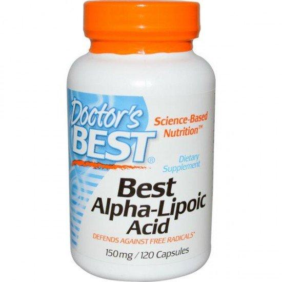 Doctor's Best Alpha-Lipoic Acid 150mg