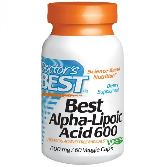 Doctor`s Best Best Alpha-Lipoic Acid 600 mg