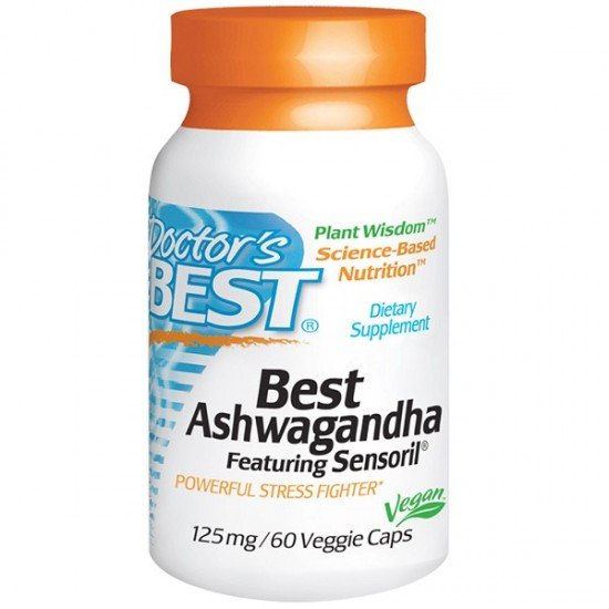 Doctor's Best Ashwagandha Featuring Sensoril 125 mg