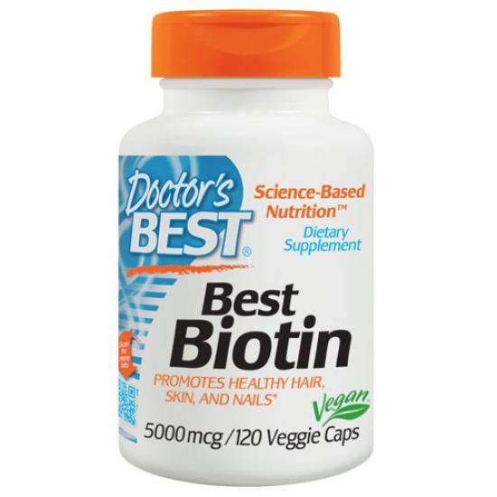 Doctor's Best Best Biotin 5000 mcg