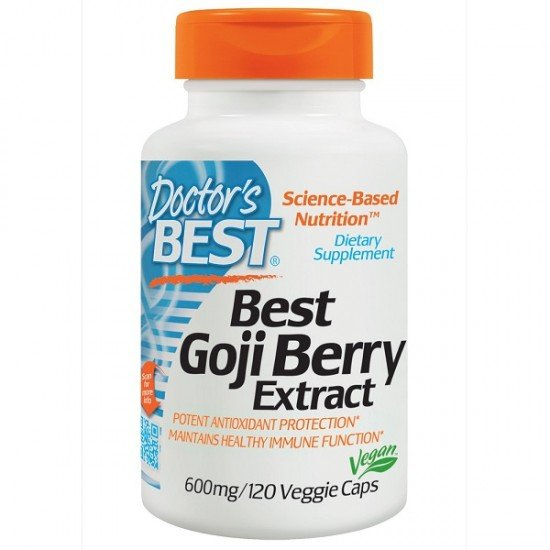 Doctor's Best Best Goji Berry Extract 600 mg