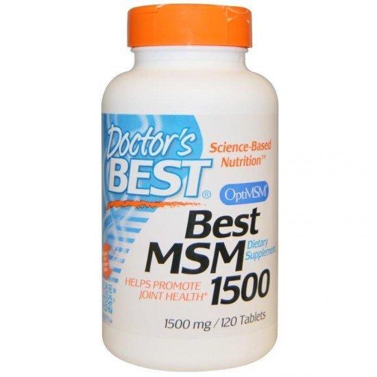 Doctor's Best Best MSM 1500 mg