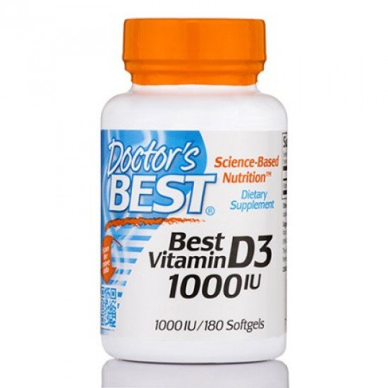 Doctor`s Best Best Vitamin D3 1000 IU