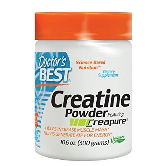 Doctor`s Best Creatine Powder Featuring Creapure