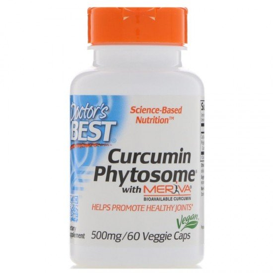 Doctor's Best Curcumin Phytosome Meriva 500 mg