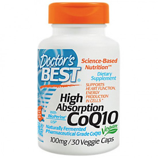 Doctor's Best High Absorption COQ-10 100 mg