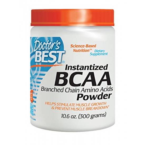 Doctor`s Best Instantized BCAA Powder