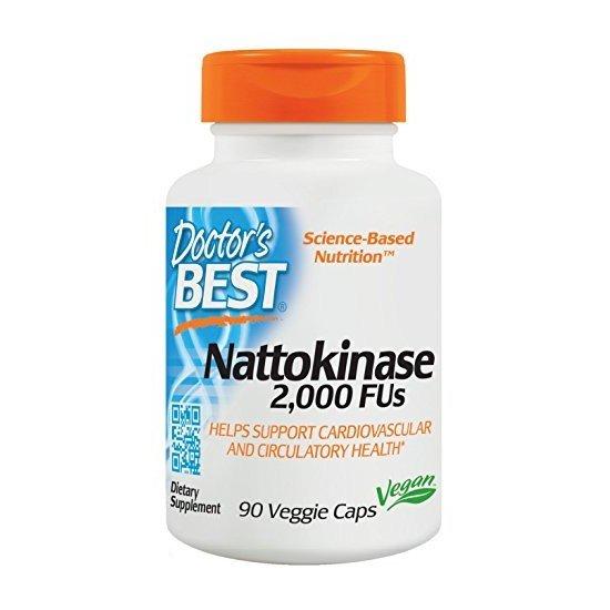Doctor's Best Nattokinase 2,000 FUs
