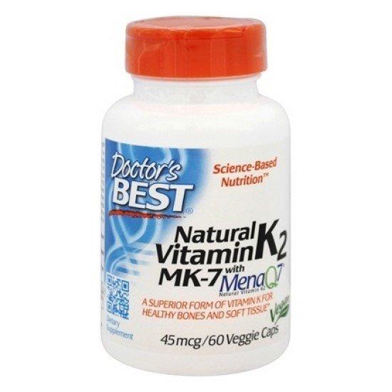 Natural Vitamin K2 45 mcg