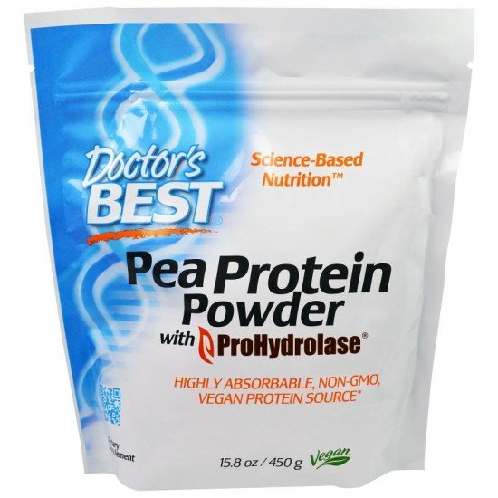 Doctor`s Best Pea Protein Powder
