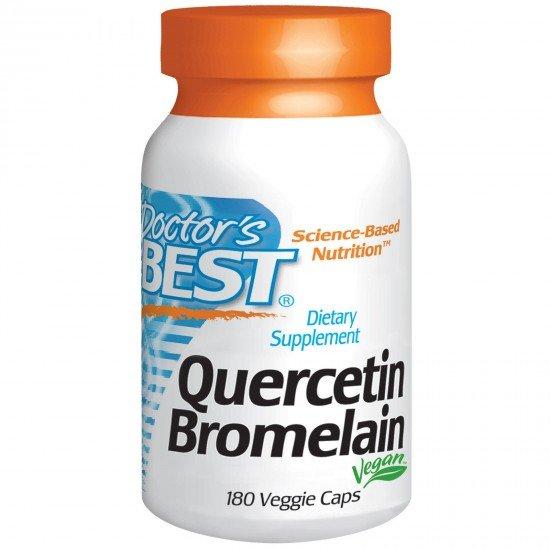 Doctor's Best Quercetin Bromelain 750 mg