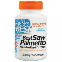 Doctor`s Best Saw Palmetto Standardized Extract 320 mg