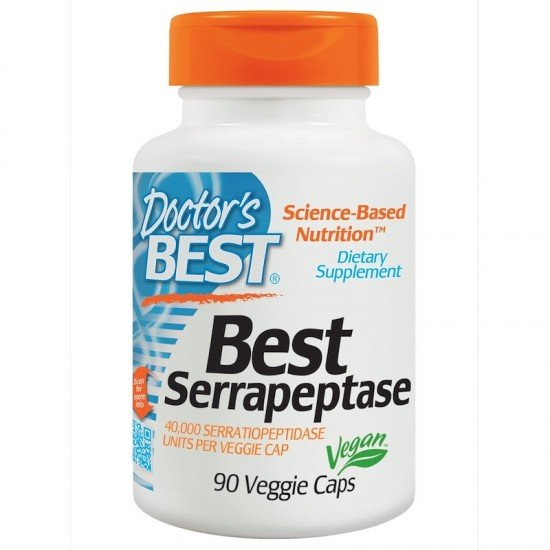 Doctor's Best Serrapeptase 40 000 IU