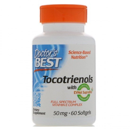 Doctor's Best Best Tocotrienols 50 mg