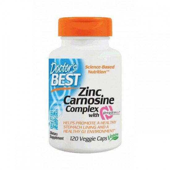 Doctor's Best Zinc-Carnosine Complex with PepZin Gl