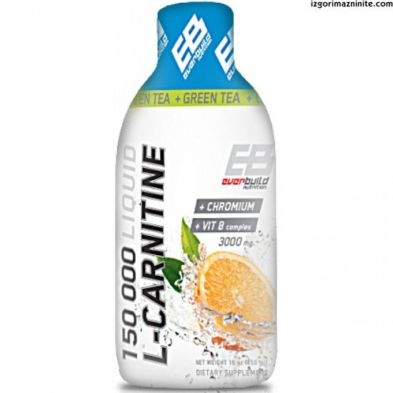 Everbuild Liquid L-Carnitine 3000 mg + Green Tea