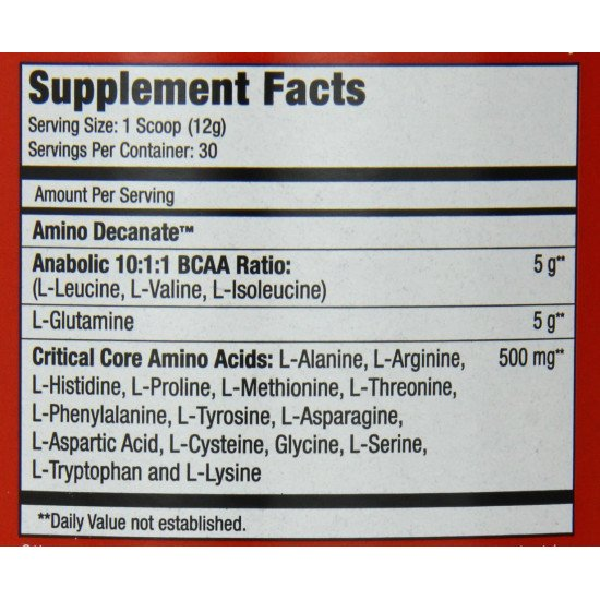 Musclemeds Amino Decanate