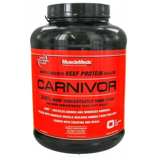 MuscleMeds Carnivor Bioengineered Beef Protein Isolate