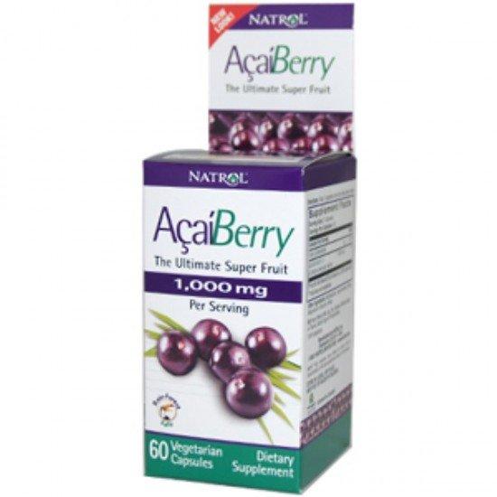 Natrol Acai Berry 1000 mg Açaí