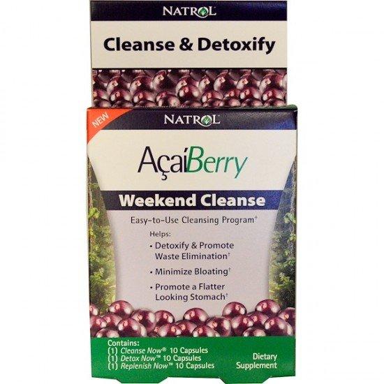 Natrol AçaíBerry Weekend Cleanse
