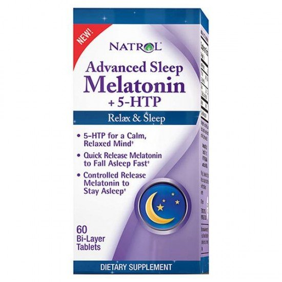Natrol Advanced Sleep Melatonin + 5-HTP