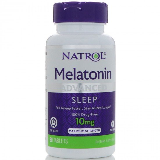 Natrol Advanced Sleep Melatonin 10mg Controlled Release