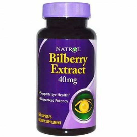 Natrol Bilberry 40mg