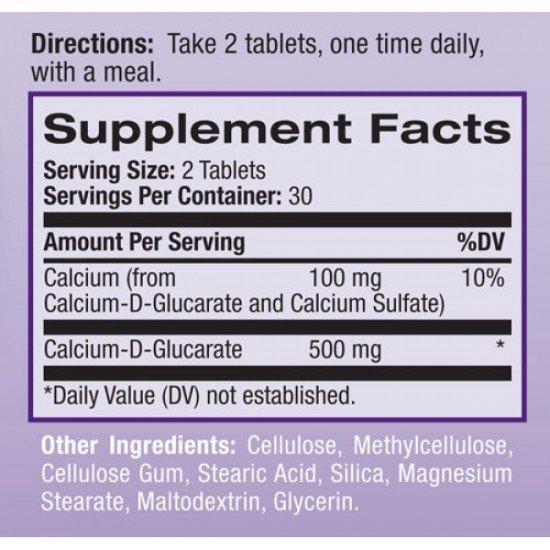 Natrol Calcium D-Glucarate