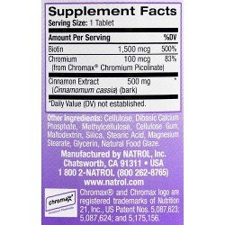 Natrol Cinnamon-Chromium-Biotin