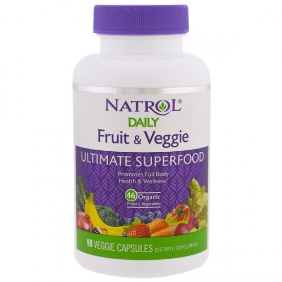 Natrol Daily Fruit & Veggie Ultimate Superfood