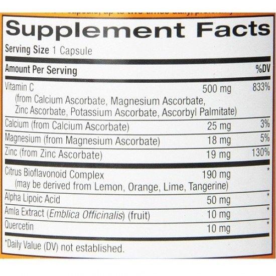 Natrol Easy-C 500mg + Citrus Bioflavonoids
