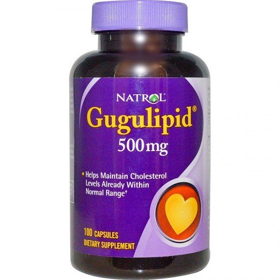 Natrol Gugulipid 500mg