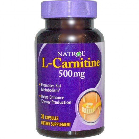 Natrol L-Carnitine 500mg
