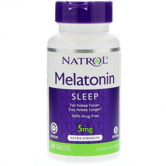 Natrol Melatonin 5 mg Timed Release